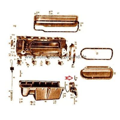 Houder afdichting M180