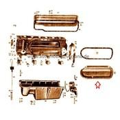 Mercedes Cilinderdeksel linker M180