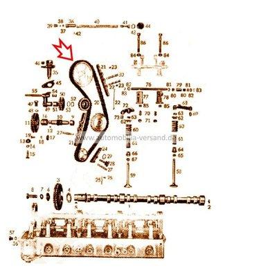 Steuerkette M180