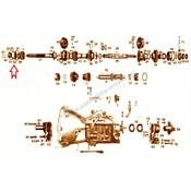 Rillenlager Getriebe Hauptwelle