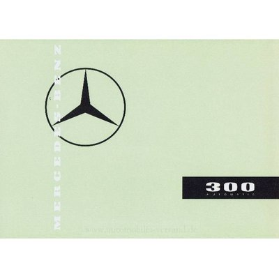 Verkaufskatalog 300 automatic