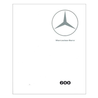 Catalogue de vente Mercedes 600