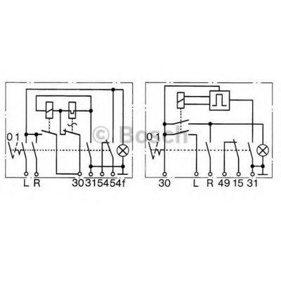 Bosch Avertissement 6 Volt unité Flasher