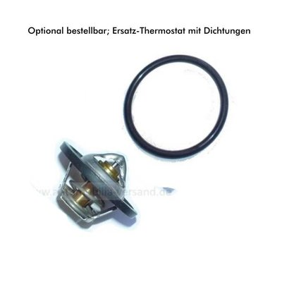 Cooling water regulator (thermostat) 170er