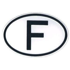 Nationality plate - France