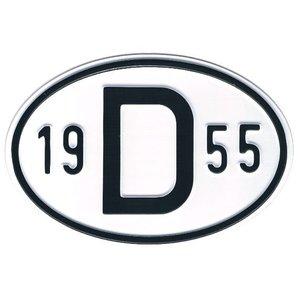 Country code Alu 1955