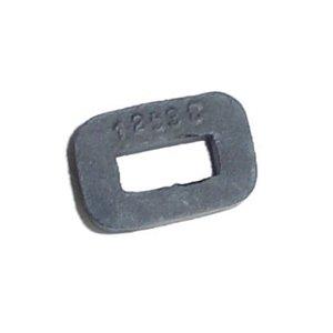 Rubber buffer latch bolt
