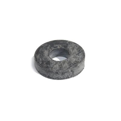 Rubber disc engine gearbox bearing