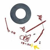 Sealing washer wiper motor