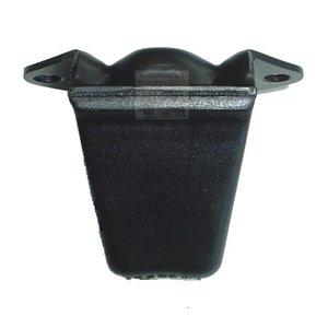 tampon de caoutchouc sur l'essieu arrière
