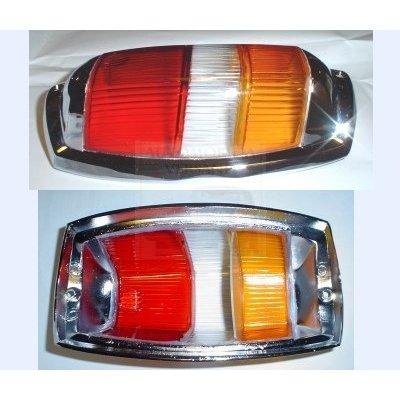 Achterlichten dekken oranje indicator