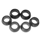 Set van rubberen ringen