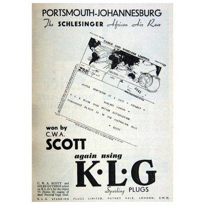 KLG Bougie d'allumage filetage M18