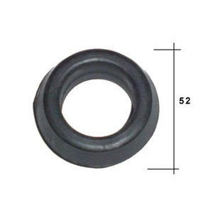 Bague de caoutchouc radiateur suspension