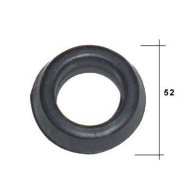 Rubber ring radiator suspension