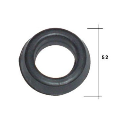 Rubberen ring radiator ophanging