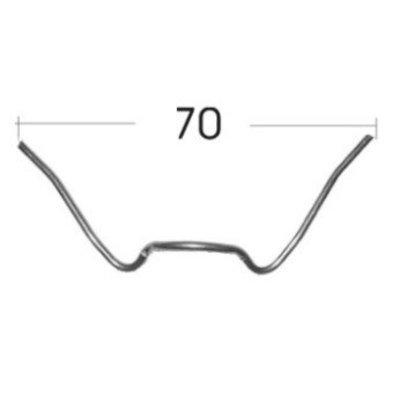 W - retaining clip