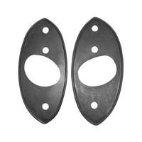 Set of rubber sheats headlights Support
