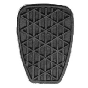 Pedal rubber diamond pattern