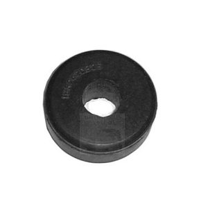 Rubber buffer engine support