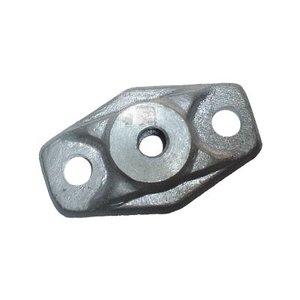 Structure bearing aluminum