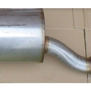 Exhaust stainless 170Va, Da