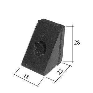 Rubber buffers (wedge) hood