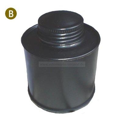 Metaal remvloeistoftank