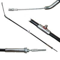Brake cable 907mm rear brake left