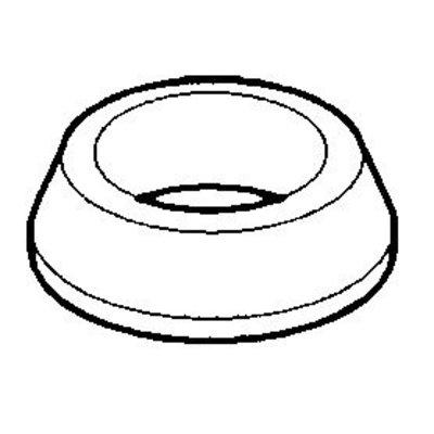 Rubberen ring grote achteras