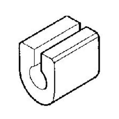 Rubber montage stabilisator 23mm