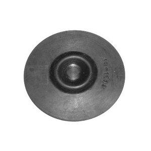 Buffer plate motor bearings