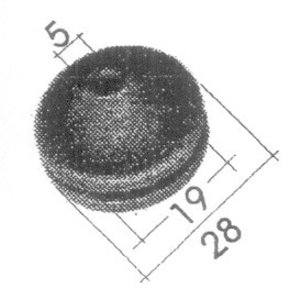 Gummitülle