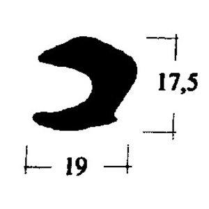 Heckdeckeldichtung 170 - 220