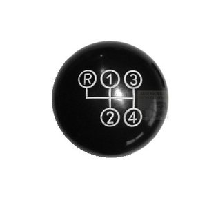 Shift knob black