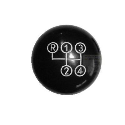 Pookknop zwart 190SL