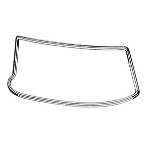 Windscreen Seal Tail Fin Sedan