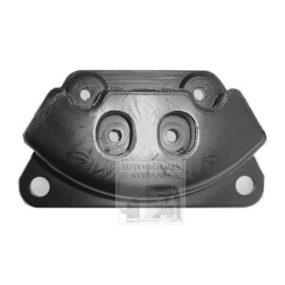 Rubber mount motorsteun