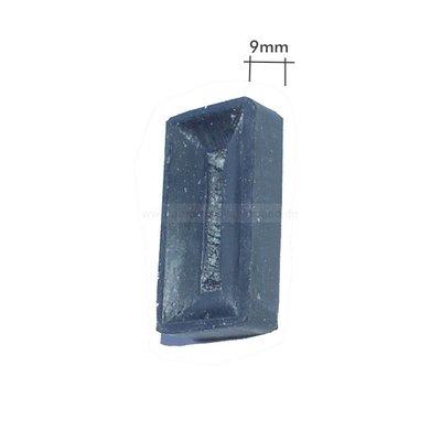 Receveur de porte tampon en caoutchouc