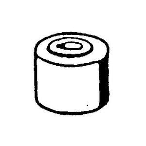 Rubber buffer torsion bar W108-W113