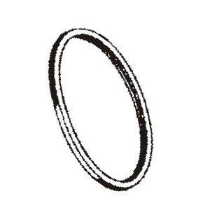 Rubber ring headlights