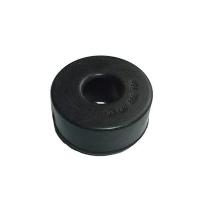 Rubber buffer front axle support