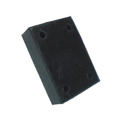 Houden van rubber uitlaat