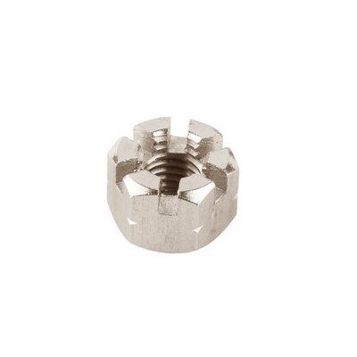 Crown nut M10, DIN 935