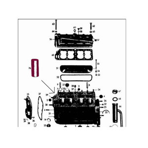 Chemise de cylindre M136, OM636