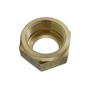 Union nut coolant pipe