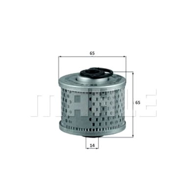 Mahle Fuel filter 220SE, W128
