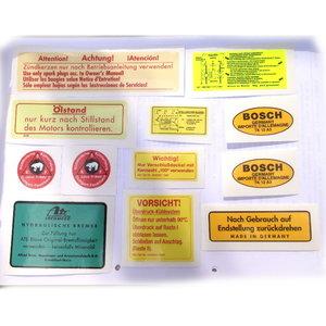 Sticker set 300SL W198