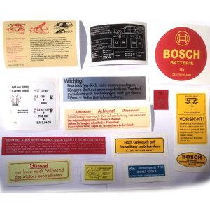 Stickerset 280SL W113