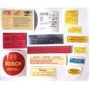Sticker set 230SL, 250SL, W113